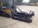 extreme duty open front brush cutter   blue diamond